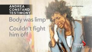 Andrea Constand undergoes interrogation by Bill Cosby's lawyer