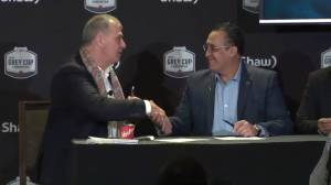 Commissioner Randy Ambrosie on CFL 2.0 plan to grow league, signs letter of intent to expand into Mexico