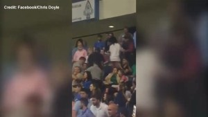 Amateur video shows man being punched at Donald Trump rally