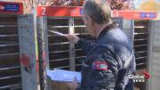 Play video: Nova Scotians welcome the suspension of community mailbox program