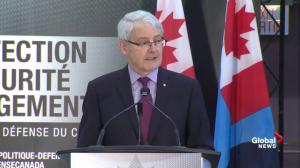 Cyber warfare key element in new defence policy: Garneau