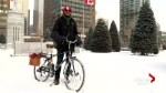 Winter Bike To Work Day: Calgary cyclists embrace bitter cold