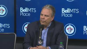 RAW: Winnipeg Jets Kevin Cheveldayoff Interview