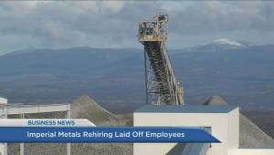 BIV: Imperial Metals recalls laid off employees, Canada's most trusted brands