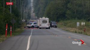 Body found in burned out vehicle in South Surrey