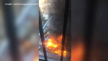Large fire breaks out at NYU Medical Center in Manhattan