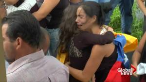 Venezuelans bury 15-year-old killed in protest