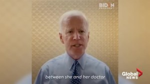 'It's wrong. It's pernicious': Joe Biden releases video on Twitter condemning abortion ban