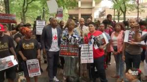 Mother of Eric Garner says she was glad about decision to fire Pantaleo
