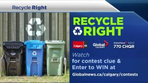 Recycle Right: keeping non-recyclable packages out of the blue bins