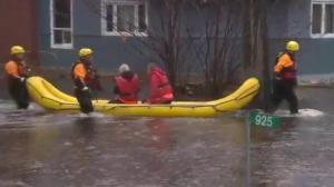 Ottawa remains under a state of emergency as floodwaters rise