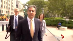 Michael Cohen surrenders to FBI as reports surface about possible plea deal