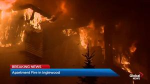 4-alarm fire causes major damage to residential building