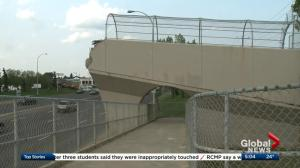 West Edmonton Mall footbridge torn down