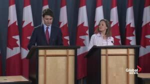 Trudeau calls new tariffs on steel, aluminum 'totally unacceptable,'