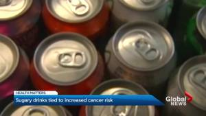 Sugary drinks tied to increased cancer risk