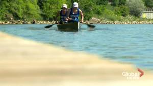 Canoe duo paddling their way to the top of the charts