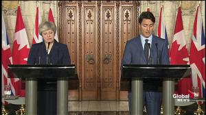 Trudeau discusses issues of agreement between him and May