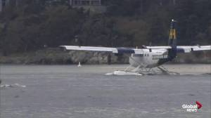 Seaplane carrying Royal Family departs Victoria