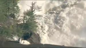 Mandatory evacuations amid fears of Bell Falls Dam failure in QC