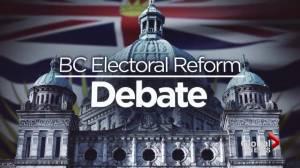 BC Electoral Reform Debate