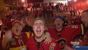 Calgary police prepare for playoff parties