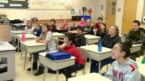 Saskatoon Christian School latest stop for SkyTracker weather school
