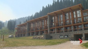 Sunshine Village resort closed to visitors, to be used as staging area for fire fight