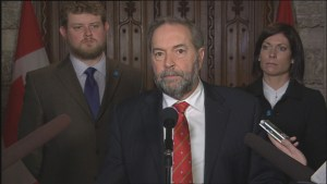 Tom Mulcair says legal system is flawed regarding sexual assault