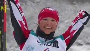 Brittany Hudak wins bronze in Paralympic biathlon