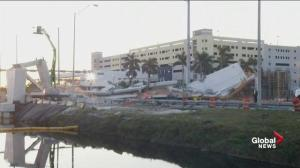 At least 6 dead in Miami bridge collapse as officials seek answers