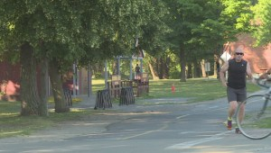 Lachine Canal bike path intersection raising concerns
