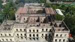 Aerial view shows burned out National Museum in Brazil