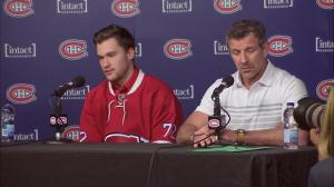 Jonathan Drouin confident about pressure of playing in Montreal