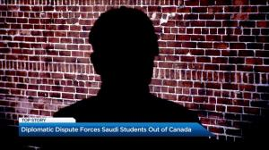 Diplomatic dispute forces Saudi students out of Canada
