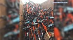 City, Dropbike defend decision to recycle lightly-used bikes