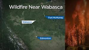 Alberta wildfire burning dangerously close to major oil facility
