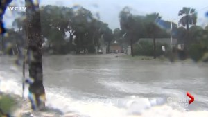 Storm surge from Hurricane Irma swamps parts of Charleston, SC