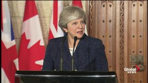 Theresa May praises CETA deal as having 'signifigant potential'
