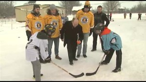 "Kingston school gets ready for ""Hockey Day in Canada"""