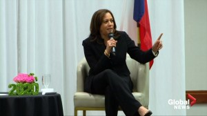 Presidential candidate Kamala Harris says Mueller report should be made public