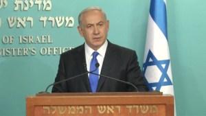 Israeli PM condemns attacks in Paris