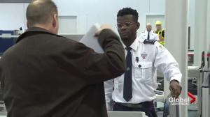Increased airport security over the holidays