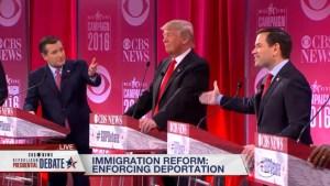 Cruz accuses Rubio lying on immigration when speaking in Spanish