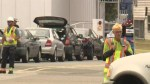 Long weekend rush leads to ferry waits