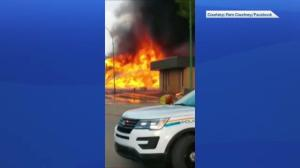Fire destroys Kyle, Sask. hotel