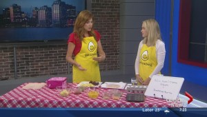 Dietitian Sarah Dunphy-Morris Cooking with Eggs