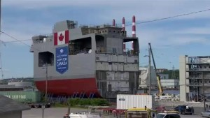 Future of Canada's Navy rolled out in Halifax