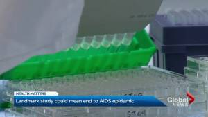 Landmark study could mean end to AIDS epidemic