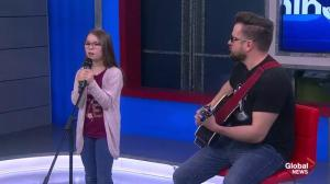 10-Year-Old Avery Anderson performs